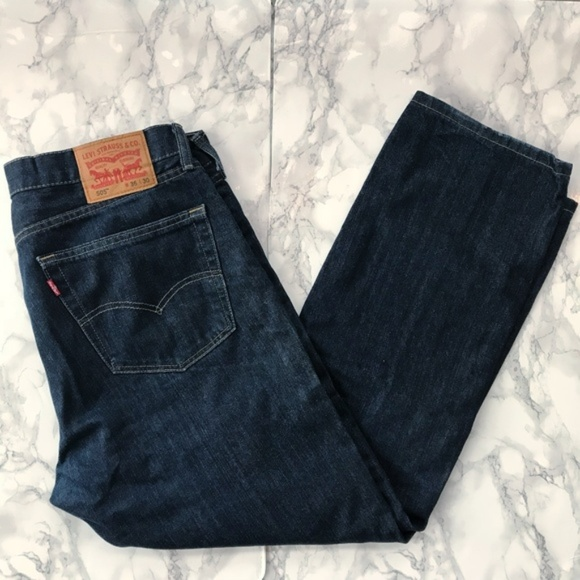 8bc983b3d21 Levi's Jeans   Levis Men Indigo 505 Straight Leg W36 L30   Poshmark